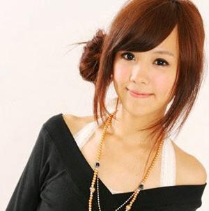 超级派对女孩俏丽发型,可爱发型,扮嫩,韩国美眉,韩系