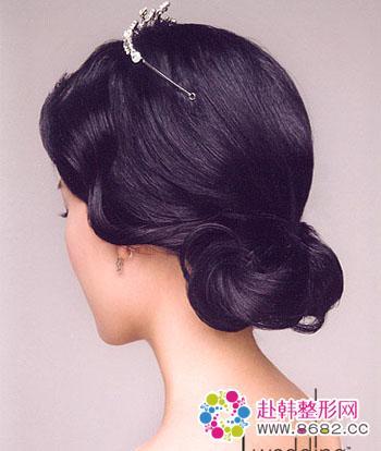 西式中式新娘发型图片展示