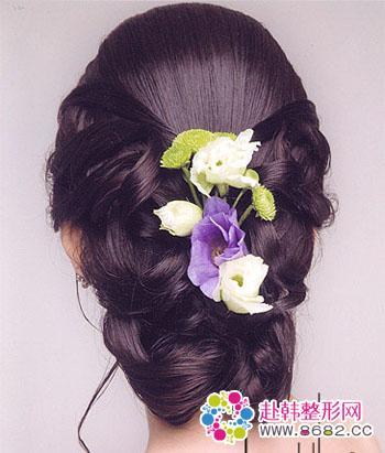 完美新娘必选 漂亮韩式新娘发型