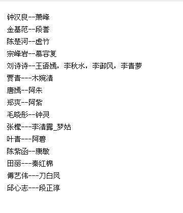 钟汉良金基范出演《天龙八部》 《天龙八部》