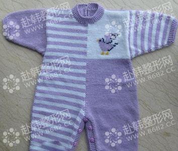 宝宝毛衣编织教程 婴儿连体衣裤的编织方法