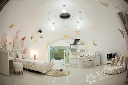 手绘可爱的童话房间