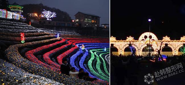 12月迎接华丽缤纷的特色灯节