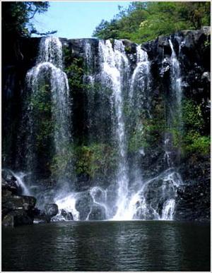 天帝渊瀑布 韩国济州岛第一瀑布